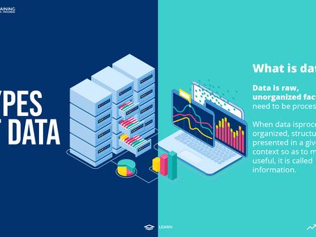 Types of Data - Data Analyst Level 4