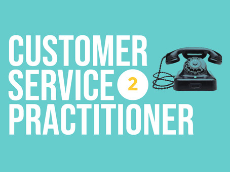 Customer Service Practitioner Level 2