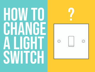 Micro-teach: How to change a light switch