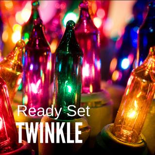 Ready Set TWINKLE, it's Christmas in July