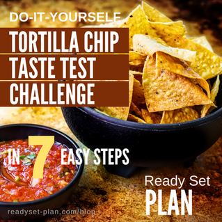 DIY Tortilla Chip Taste Test Challenge