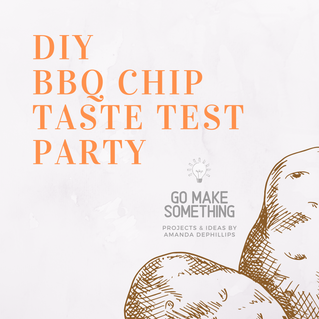 DIY BBQ Chip Taste Test Party