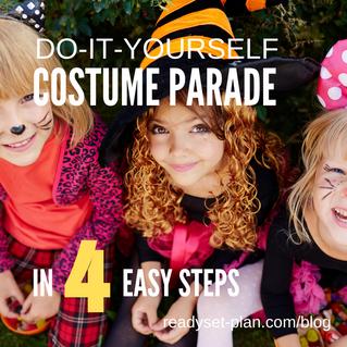 DIY Halloween Masquerade Parade