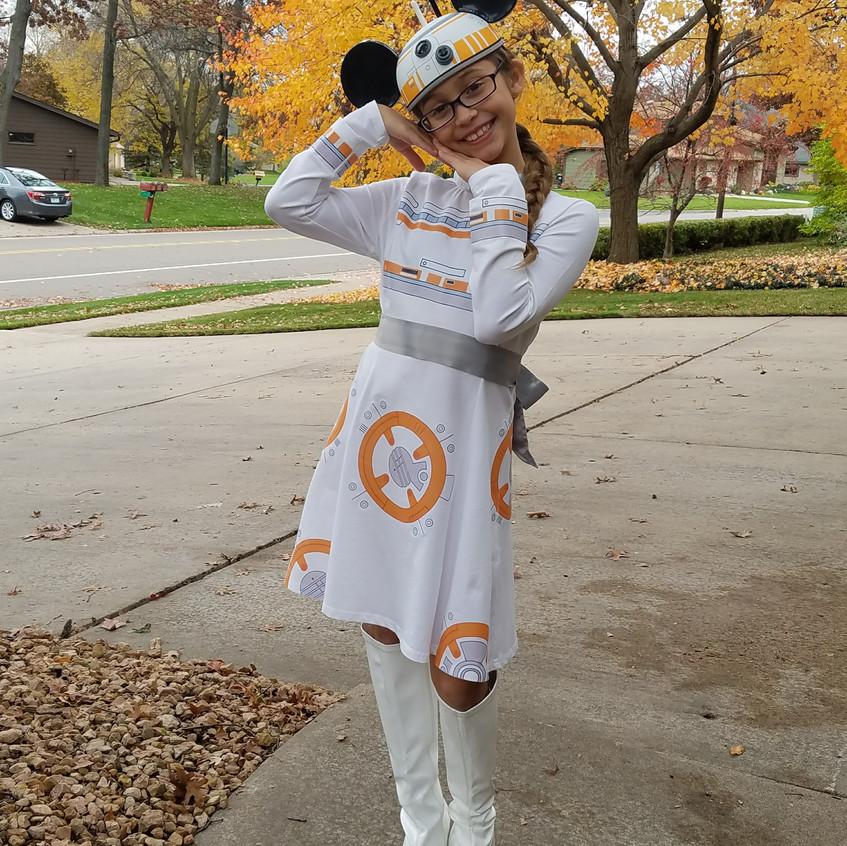 BB-8 Disneybounding