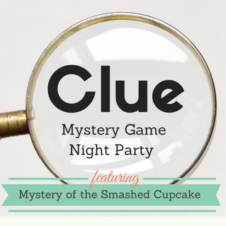 Clue Mystery Game Night