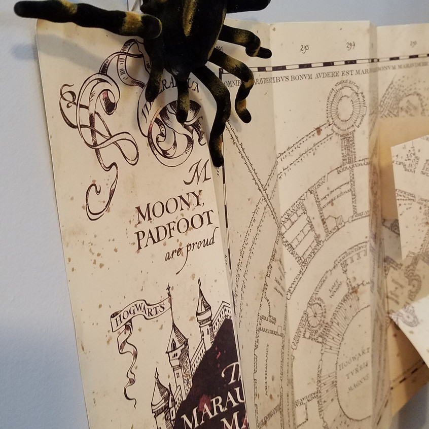 Marauder's Map and Spiders