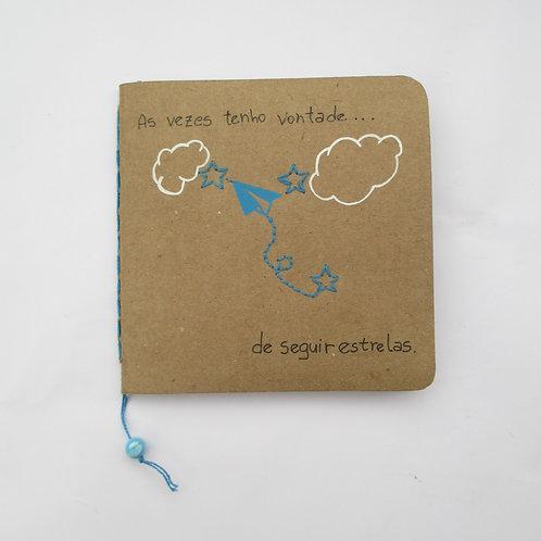 "Caderno Journal ""Seguir Estrelas"""