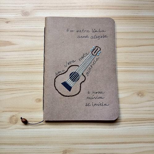 Caderno Journal Violão