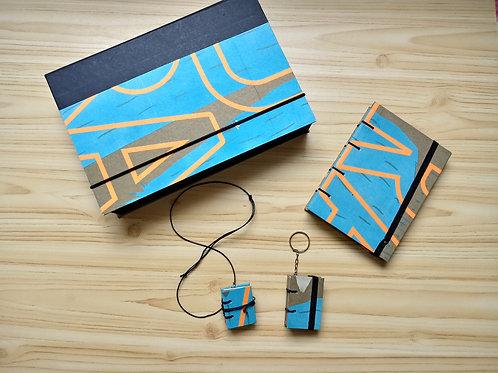 Kit Especial - Caixa+caderno+miniaturas