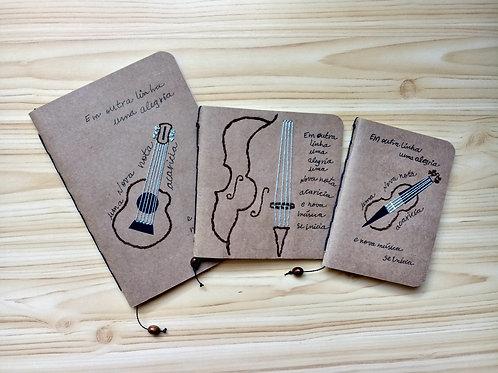 Caderno Violino