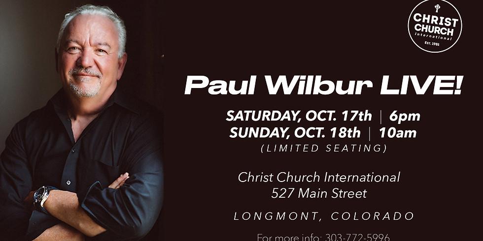 Paul Wilbur - SUNDAY 10am