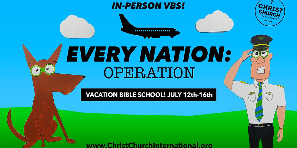 Every Nation Operation VBS
