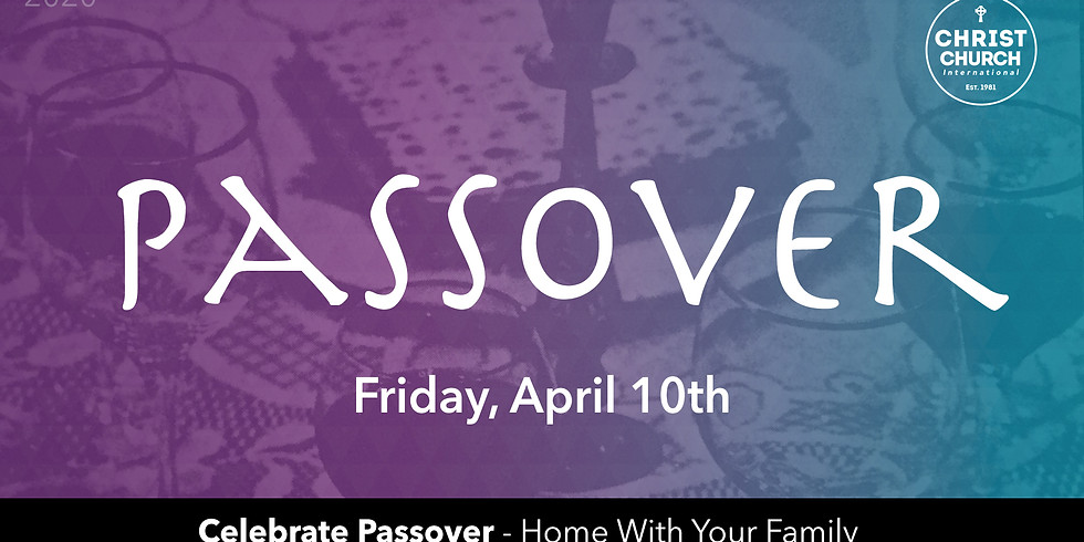 Passover - At Home
