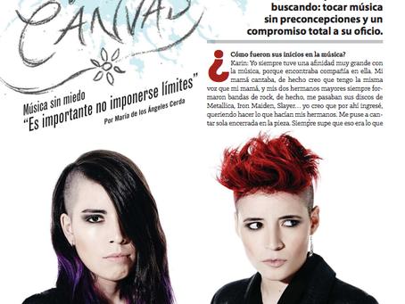 [Entrevista] Revista ROCKAXIS.