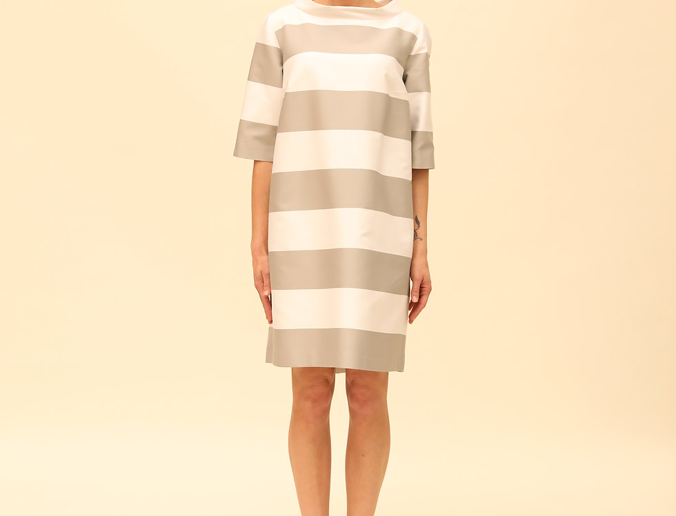 Kleid Bretonne grey