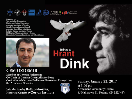 Tribute to Hrant Dink
