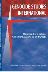 Genocide Studies International New Issue Dedicated to Centenary of the Armenian, Assyrian and Greek