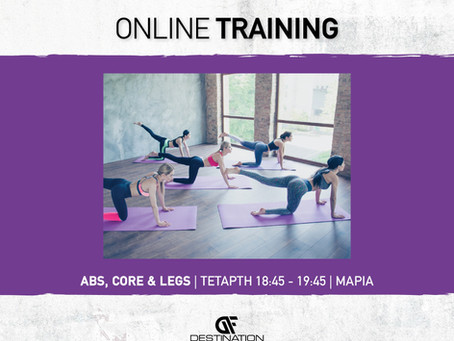 Abs, Legs & Core Live Class