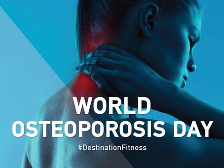 Παγκόσμια Ημέρα Οστεοπόρωσης!
