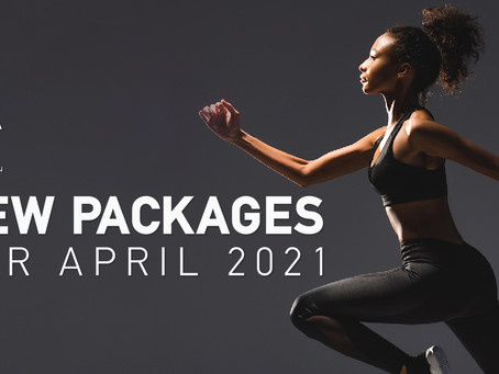 New Packages for April