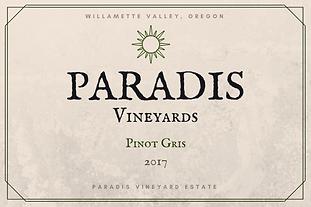 2017 Pinot Gris
