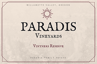 2017 Vintners Reserve Pinot Noir