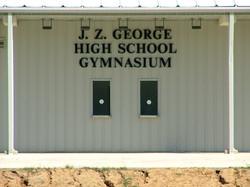 J.Z. GEORGE HIGH SCHOOL GYMNASIUM