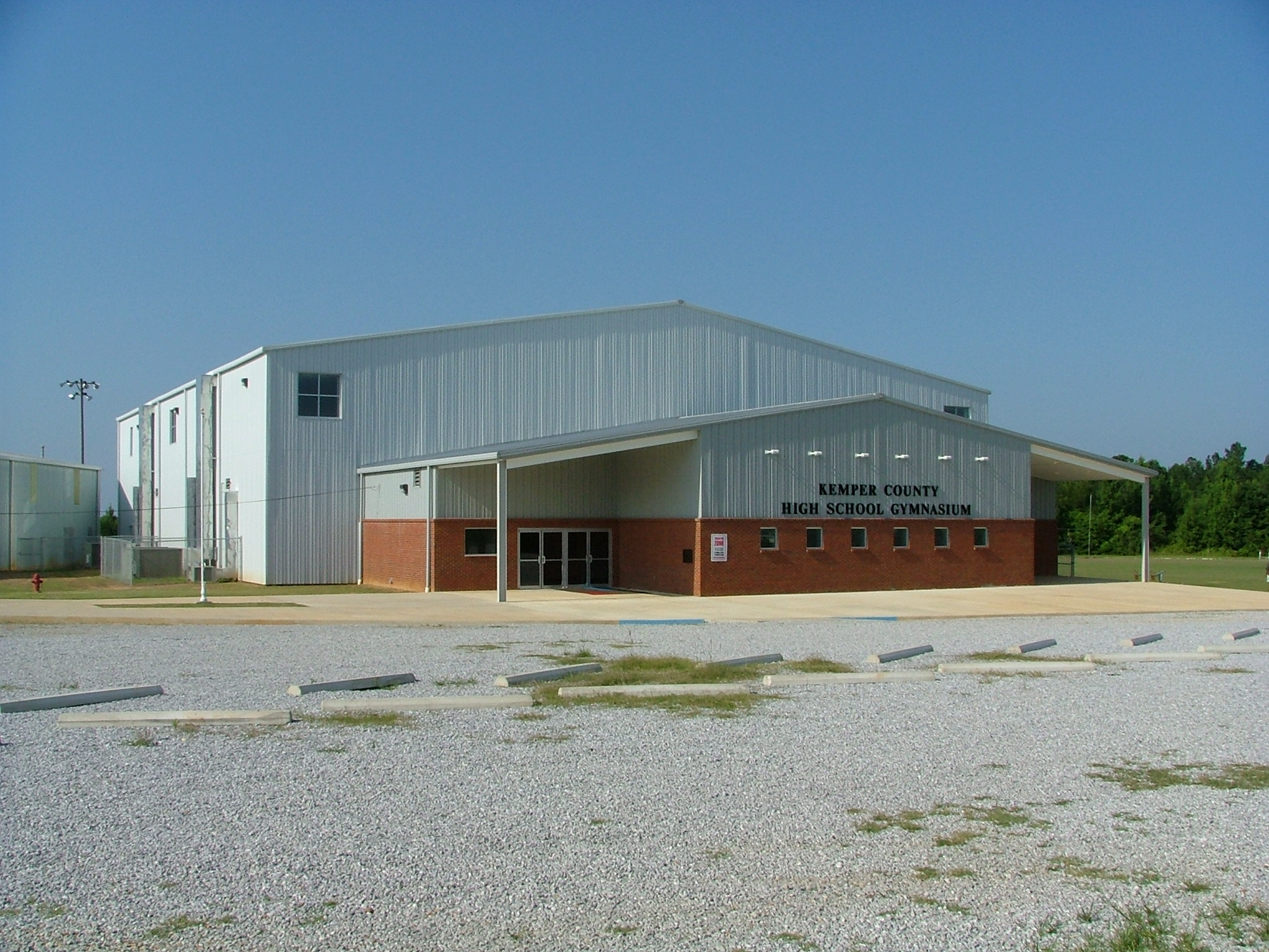KEMPER COUNTY HIGH SCHOOL GYMNASIUM
