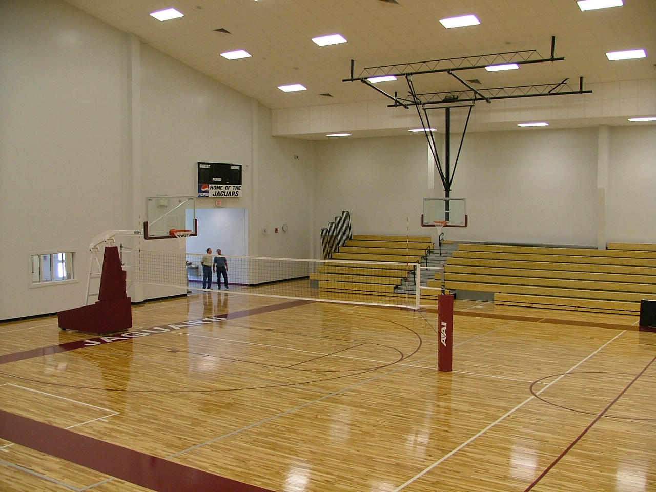 J.Z. GEORGE HIGH SCHOOL GYMNASIUM