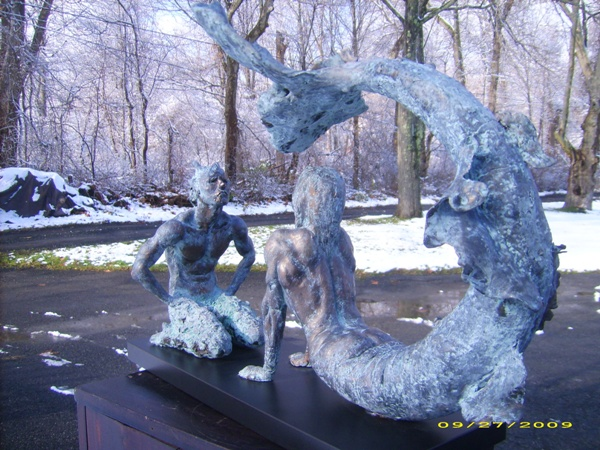 Mermaid and the Satyre
