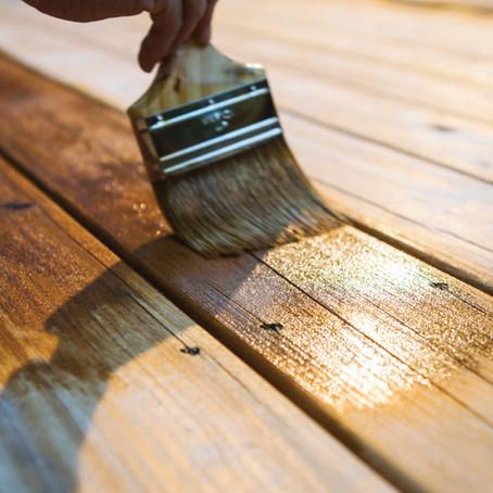 วิธีการเลือกสีย้อมไม้ Decking Stain