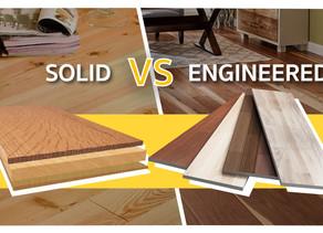 เปรียบเทียบคุณสมบัติไม้ Solid vs Engineered