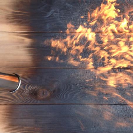 SHOU SUGI BAN ถนอมเนื้อไม้ด้วยเปลวไฟ