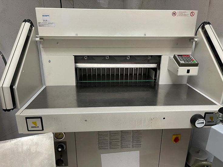 EBA - 55 programable guillotine