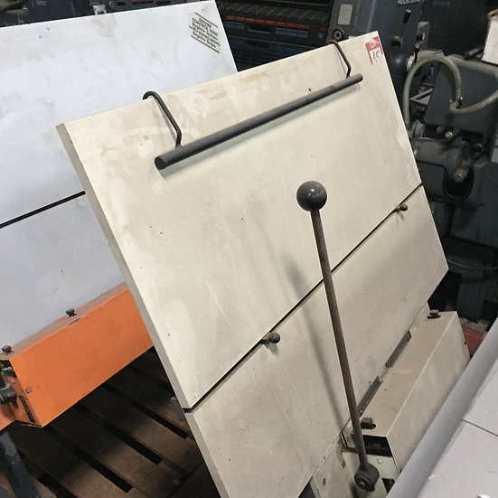 A2 plate punch