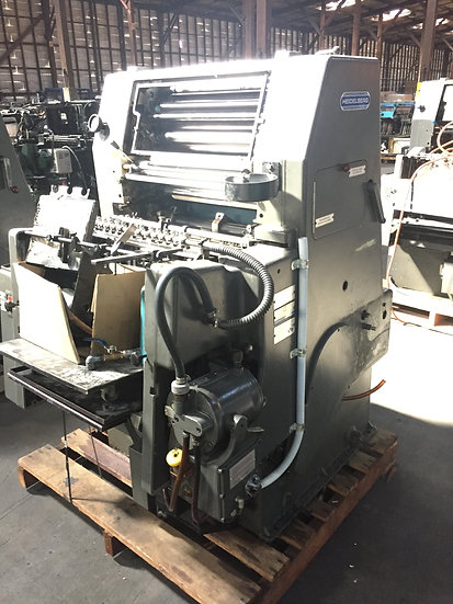 HEIDELBERG GTO 46 NP with numbering S/N 661310