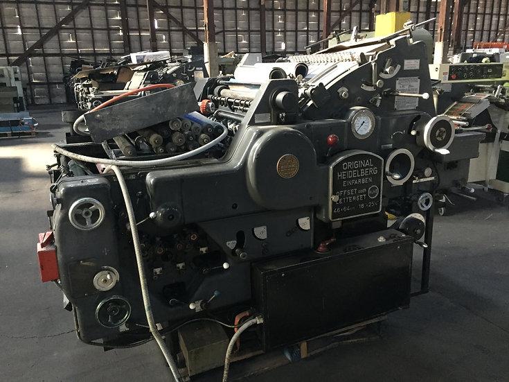 HEIDELBERG KORD 64 Grey  S/N 345 812  Black control panel