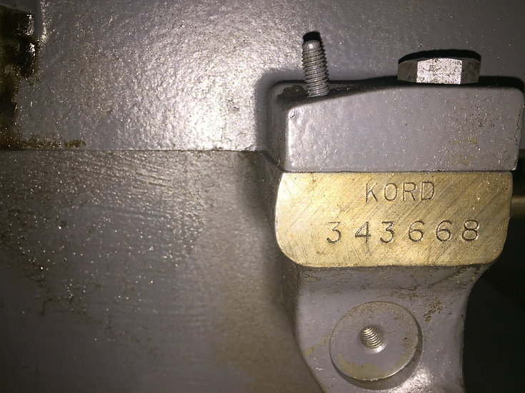 HEIDELBERG KORD 64 Grey  S/N 343 668  Black control panel