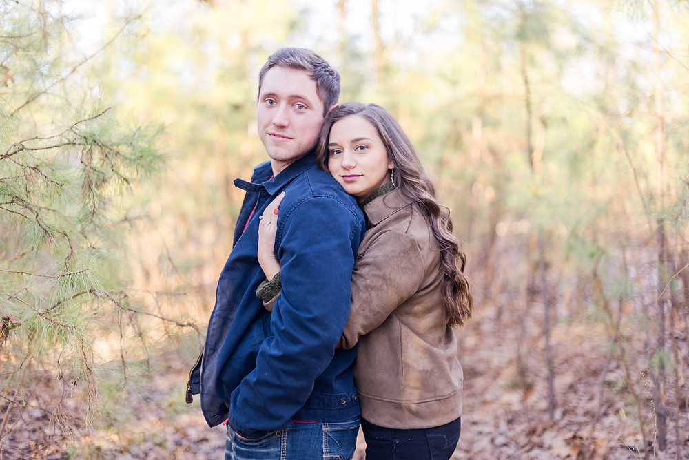 Engagement photography at Craighead Forest in Jonesboro, Arkansas in January, Wedding Photography, Arkansas Engagement Photographer