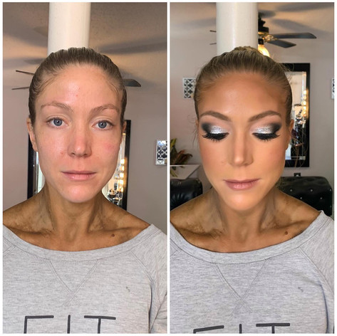 makeup for fitness competition
