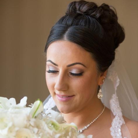 wedding makeup Warwick Rhode Island done by Jennifer Dupre Artistry
