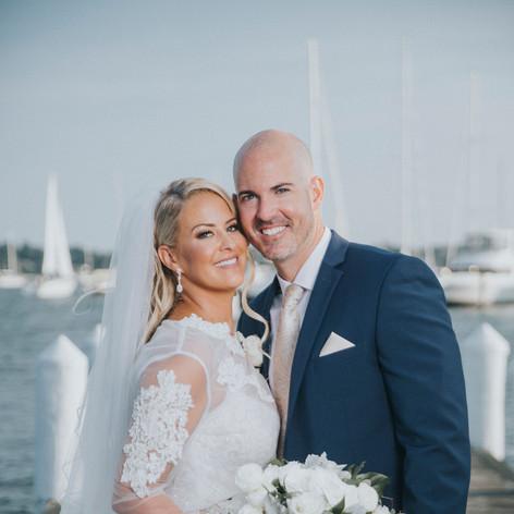 wedding makeup newport rhode island done by makeup artist Jennifer Dupre Artistry