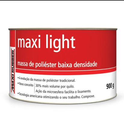 Maxi Light Massa de Poliéster Baixa Densidade