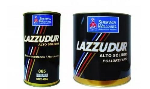 Verniz Alto Sólidos 8937 HS Com Catalisador 065 - Lazzuril