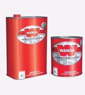 Wanda Verniz Alto Solidos 9100 2:1 + Catalizador 900 ml