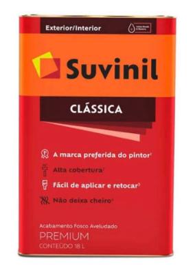 Suvinil Maxx Classica Pva Fosco 18 Lt