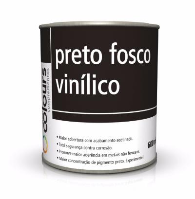 Preto Fosco Vinilico + Catalizador Maxi Rubber