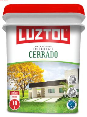 Luztol Tinta Acril Cerrado 18 LT (Varias Cores)