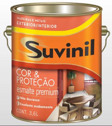 Suvinil Esmalte Grafite Claro 3,6 l