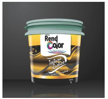 Textura e Rustic Rend Color 25 KG